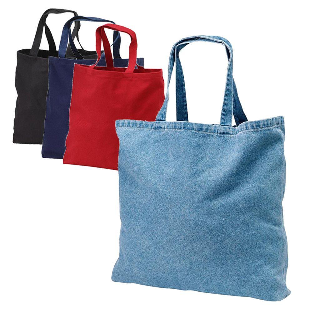 Heavy Cotton Denim Convention Tote Bag TF270 | Wholesale