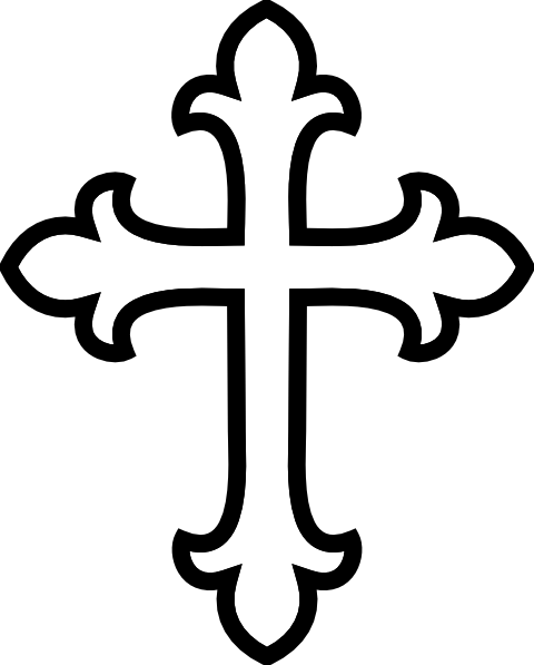cross stencils | white cross clip art | This and That ...