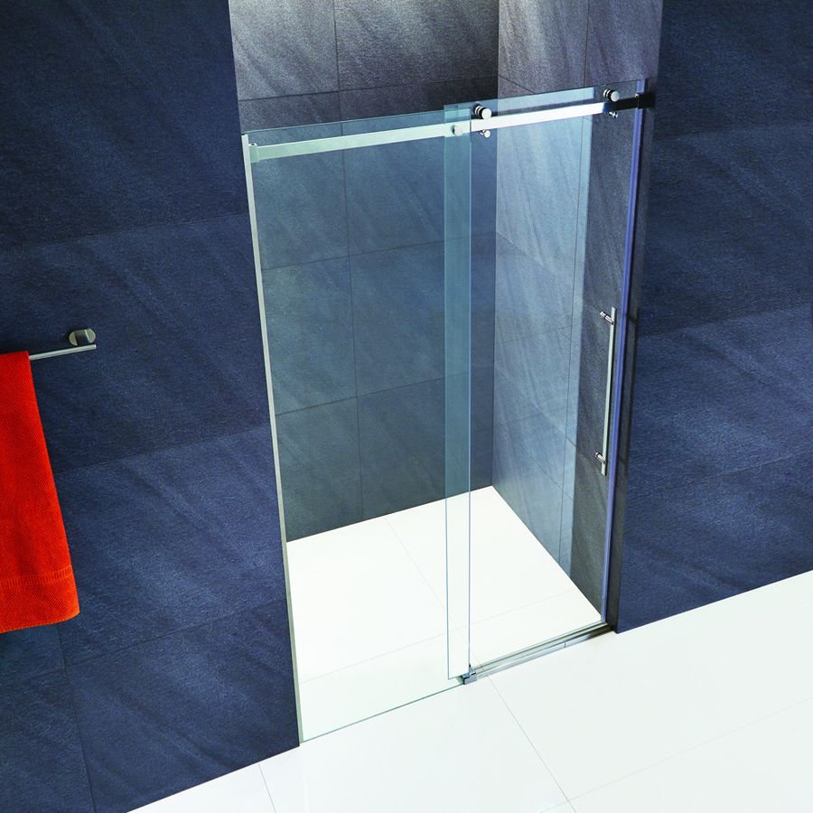 Vigo Luca 56-In To 60-In W X 78.75-In H Frameless Sliding Shower ...