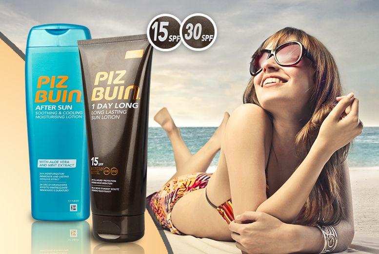 2-Piece Piz Buin Sun Care Bundle