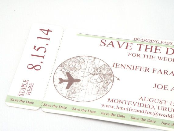 17 Best images about boarding pass invitation on Pinterest | Free ...