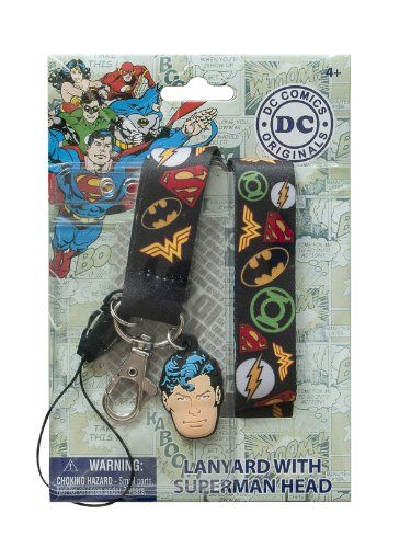 DC Comics Batman Vintage Symbol Lanyard