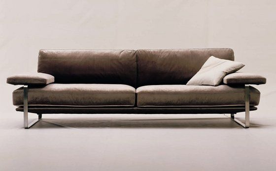 Fabric Sofa Leather Sofa Modern Design Sofa Three Seat Sofa