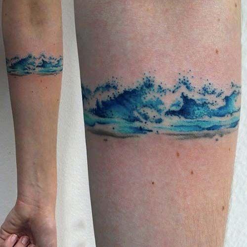 sea wave armband tattoo deniz dalgas kol band d vmesi kol band d vmeleri armband tattoos. Black Bedroom Furniture Sets. Home Design Ideas