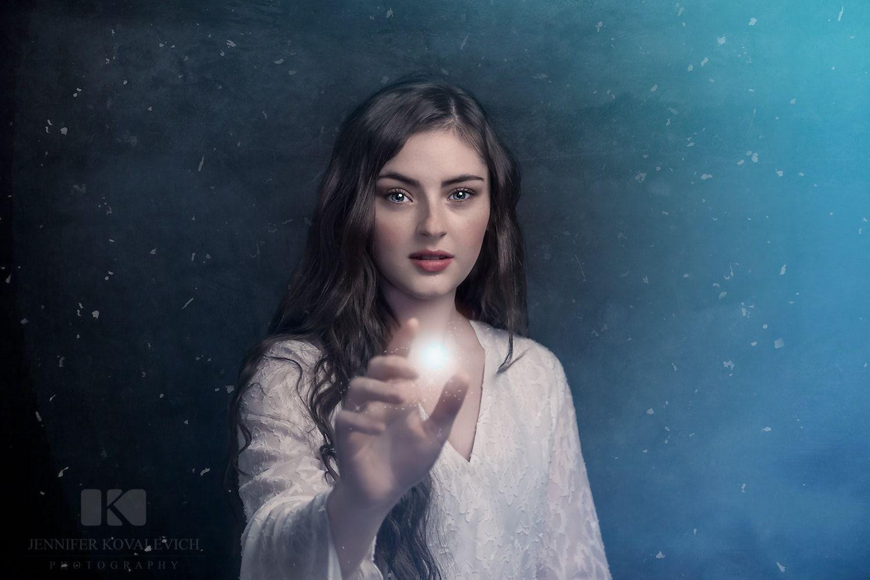 The ice Princess - Having some fun with editing :-)