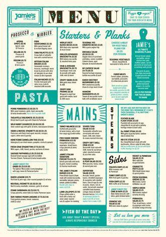 Jame Olivers Italian Brisbane Austral Rowes Arcade site, 215 - italian menu
