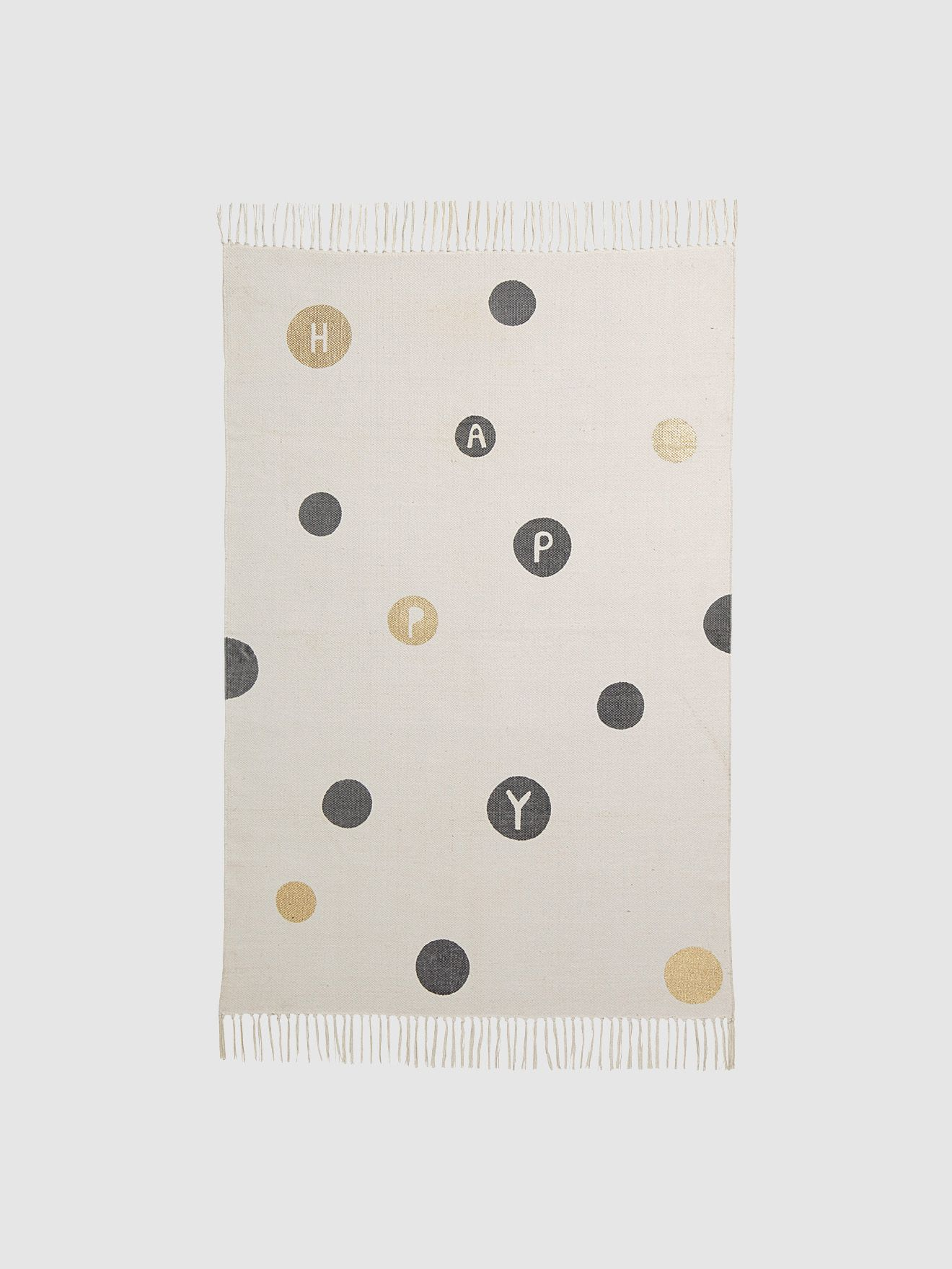 A Feel Good Rug With Pretty Splashes Of Gold To Wow Fans