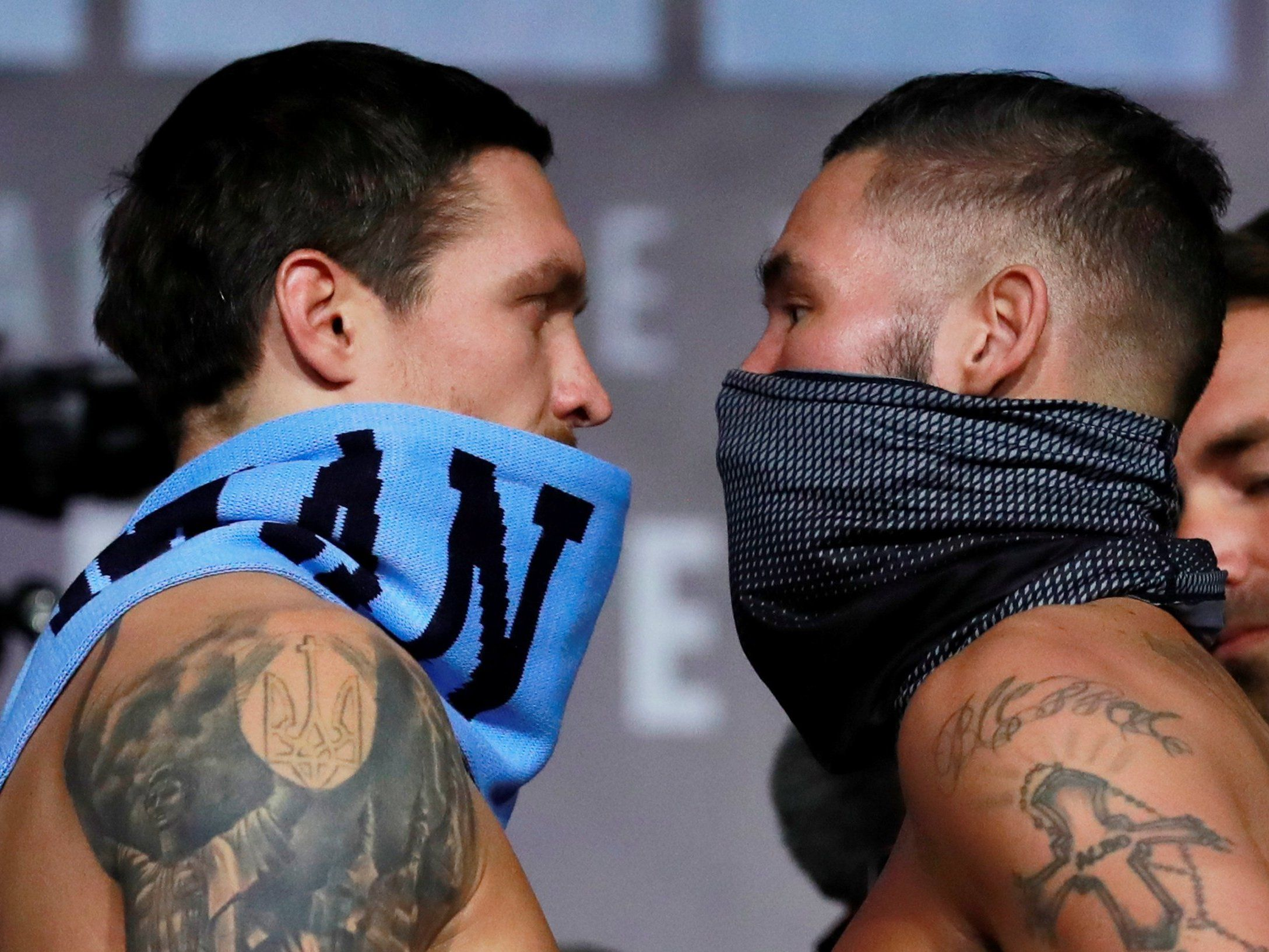 How much money will Bellew and Usyk make from