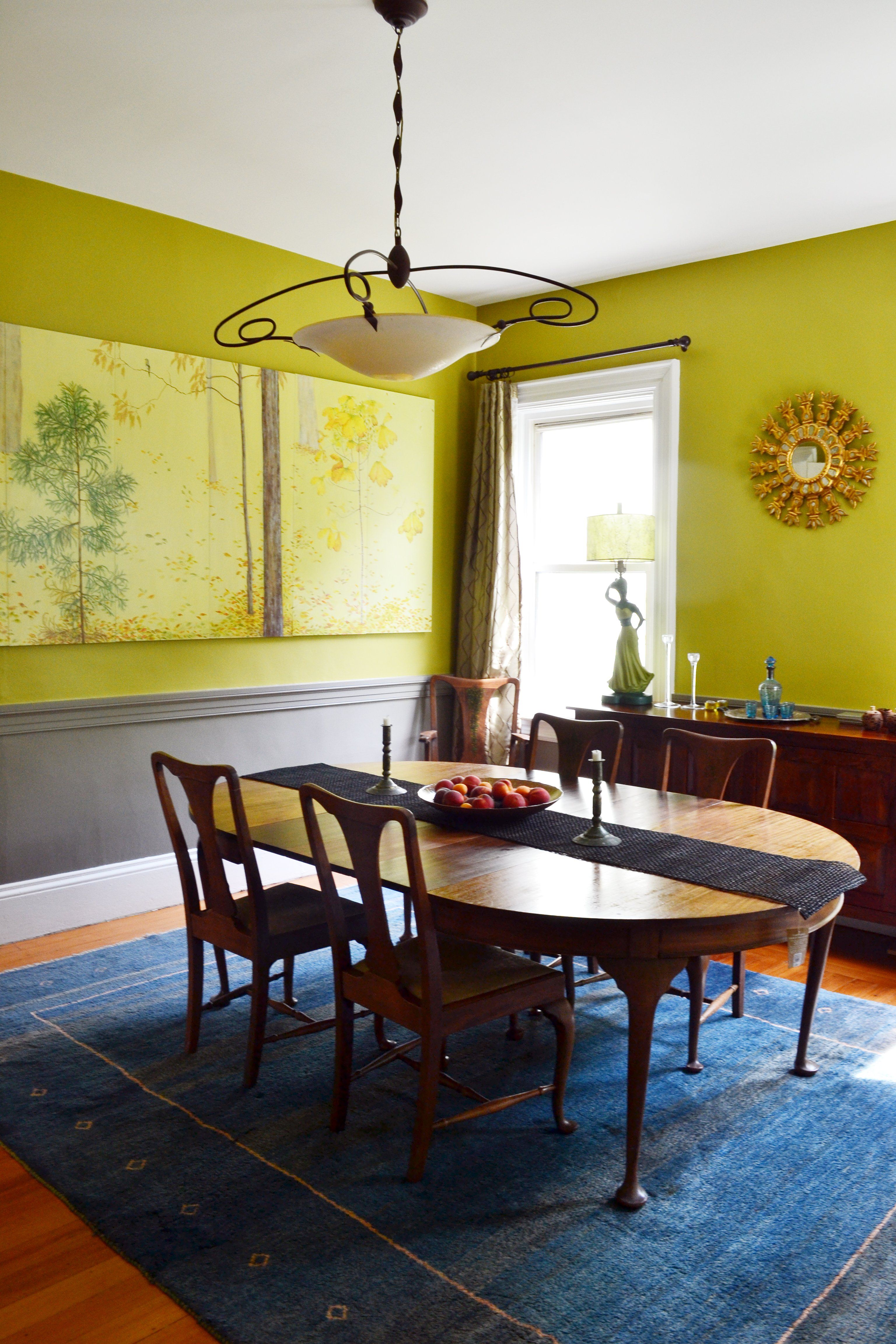 Paint colors that match this Apartment Therapy photo: SW 6705 High ...