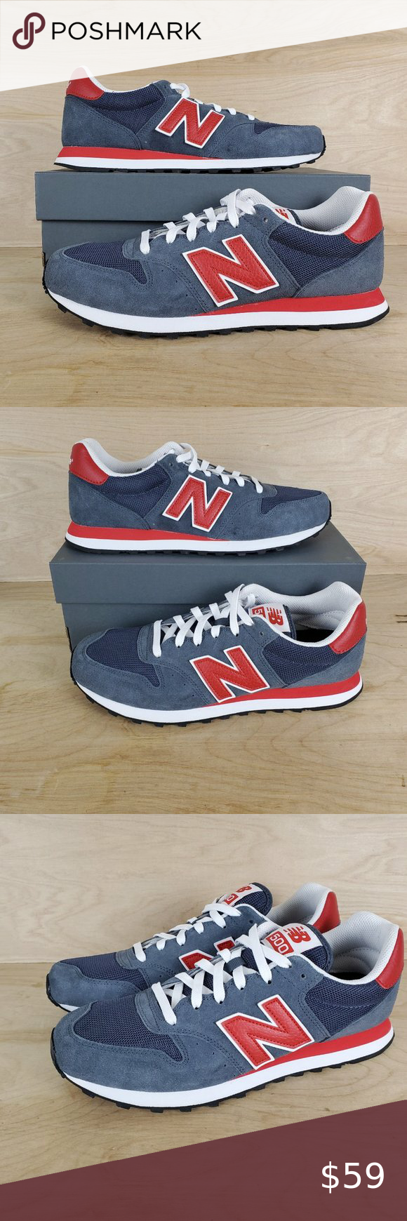 New Balance NB 500 Sneakers GM500SD Mens NWB   Sneakers, New ...