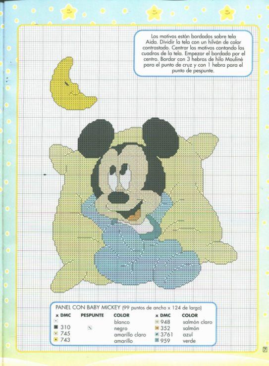 Gallery.ru / Фото #5 - punto de cruz Disney 2 - anfisa1 | punto de ...