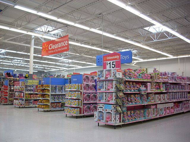 Walmart Interior By Retailbyryan95 Via Flickr Retail Design