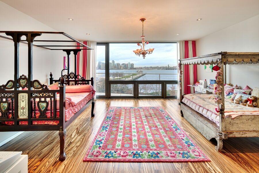 Novogratz townhouse girls bedroom