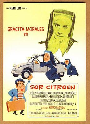 Resultado de imagen de Sor Citroën poster