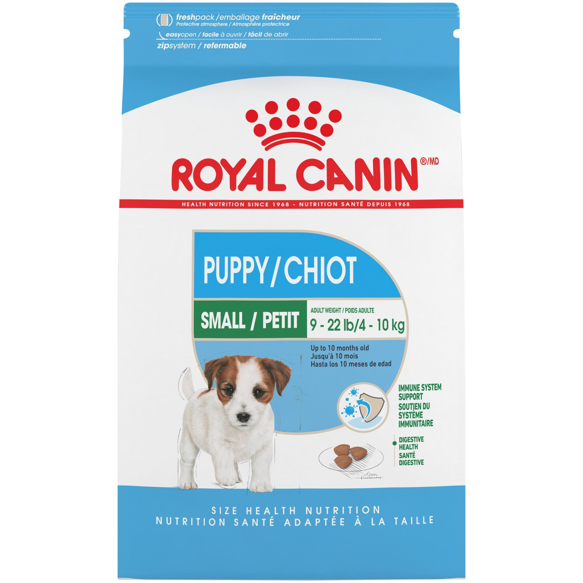 Royal Canin Small Puppy Dry Food 2 5 Lbs Dry Dog Food Small
