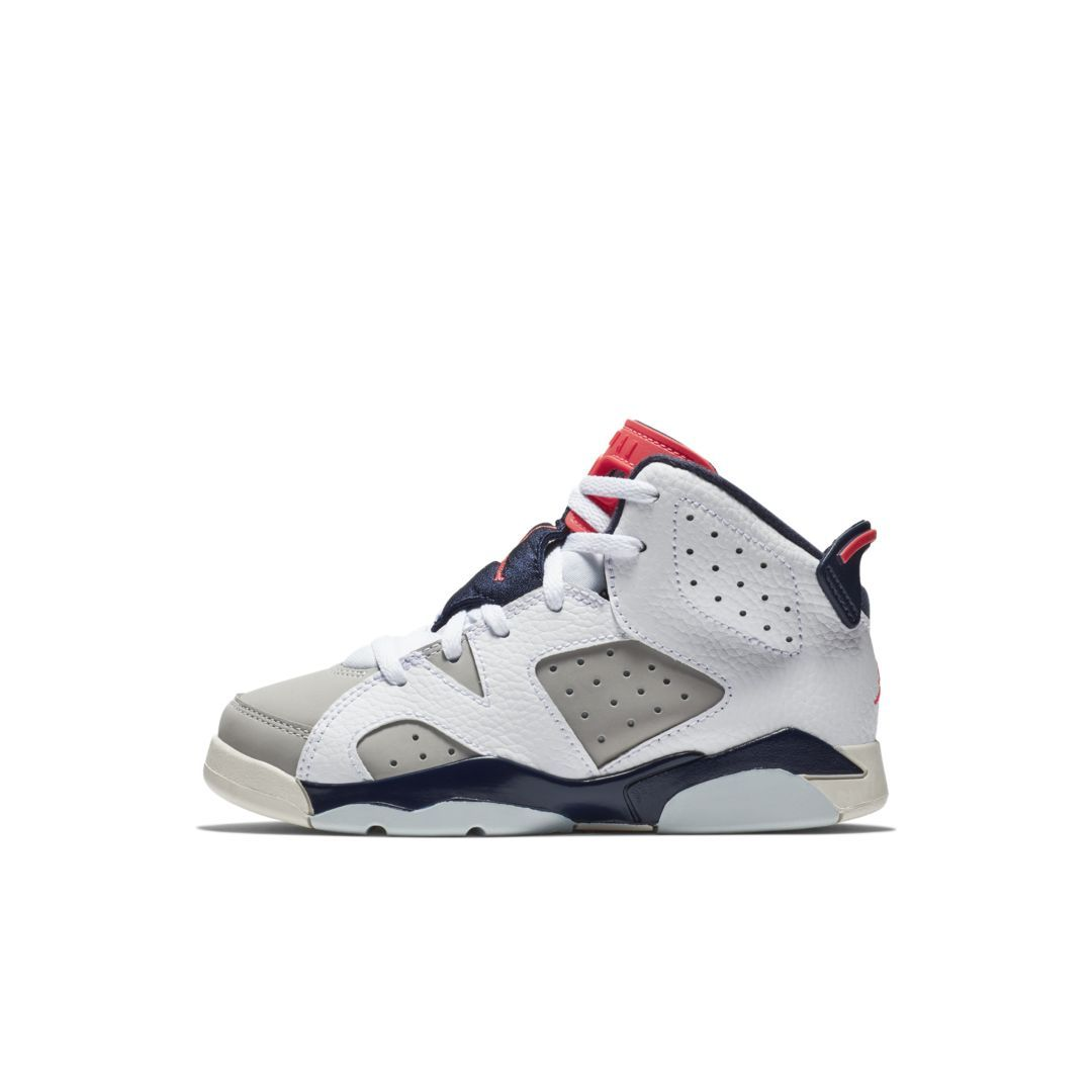 Air Jordan Retro 6 (10.5c 3y) Little Kids' Shoe   Jordan