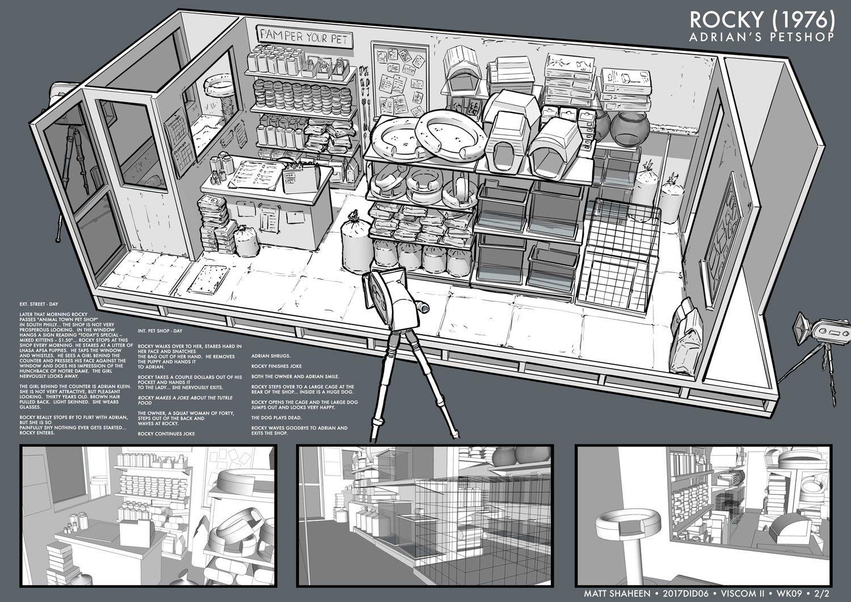 Feng Zhu Design Shot Design Via Set Design Term 2 Environment Concept Art Design Concept Design