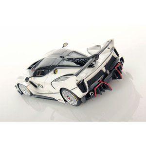 1/43 ルックスマート ミニカー フェラーリ Ferrari FXX-K Evo metallic-weiss #ferrarifxx