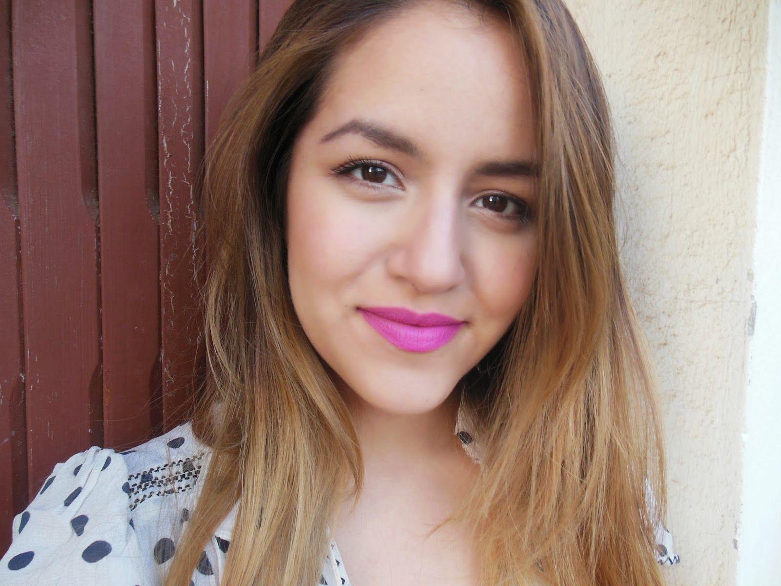 NEON, bright lipsticks for Spring. Chanel La Diva http