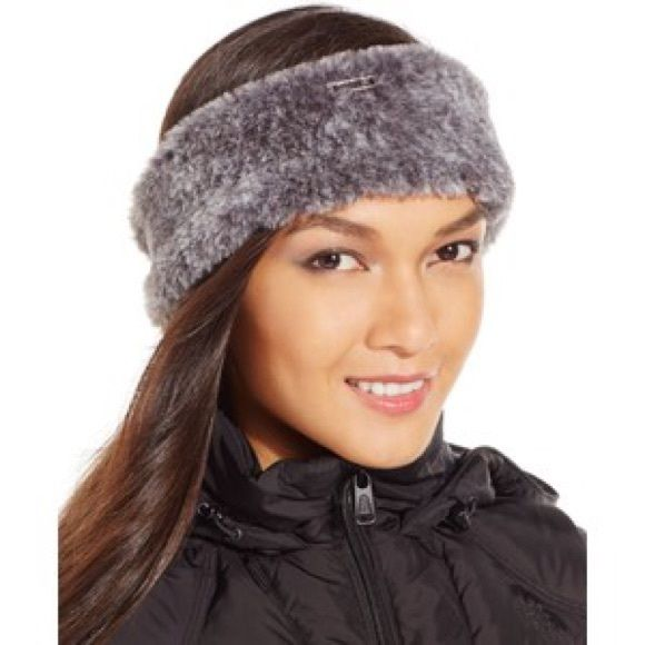 a2e6633b6ac New Calvin Klein faux fur headband. Sold out this season and no longer  available in stores. Calvin Klein Accessories Scarves   Wraps