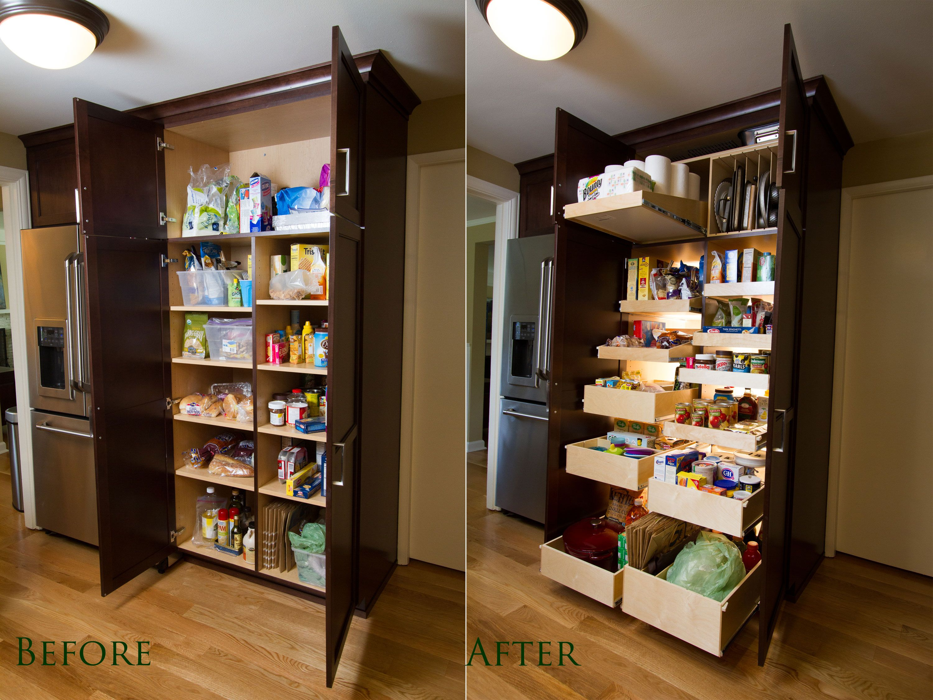 Kitchen Pantry Drawer Systems Diy Cabinet Doors Organize Your By Putting Everything Within Reach