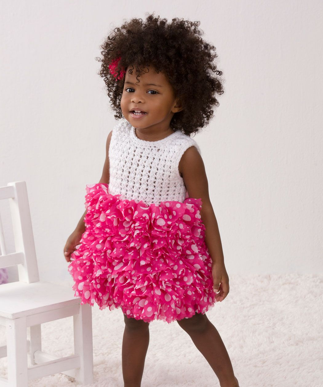 Babys 1. Party-Kleid - gratis Pdf Häkelanleitung und Vorlagen