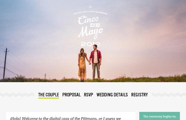 21 Beautifully Designed Wedding Websites Wedding Website Examples Wedding Website Design Best Wedding Websites