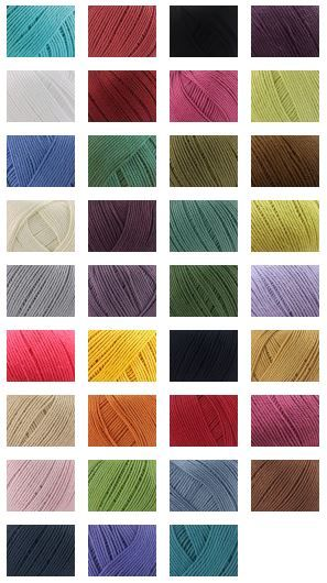 Rowan Cotton Glace 50gm - 115m $8.79 Deramores