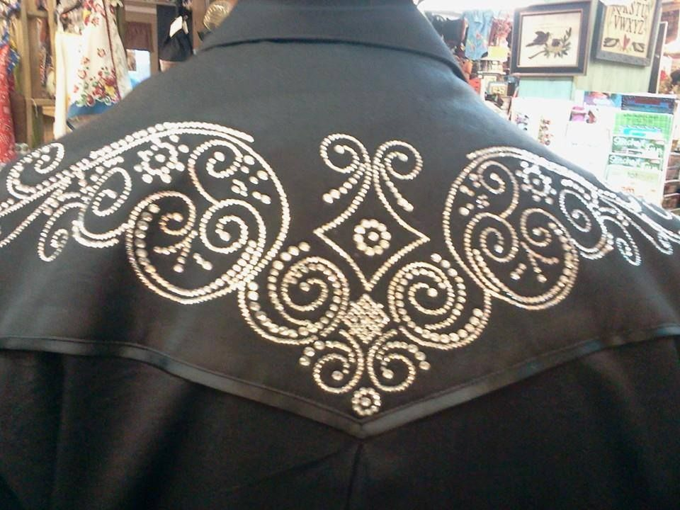 A jacket i blinged for travis conway twitty at the