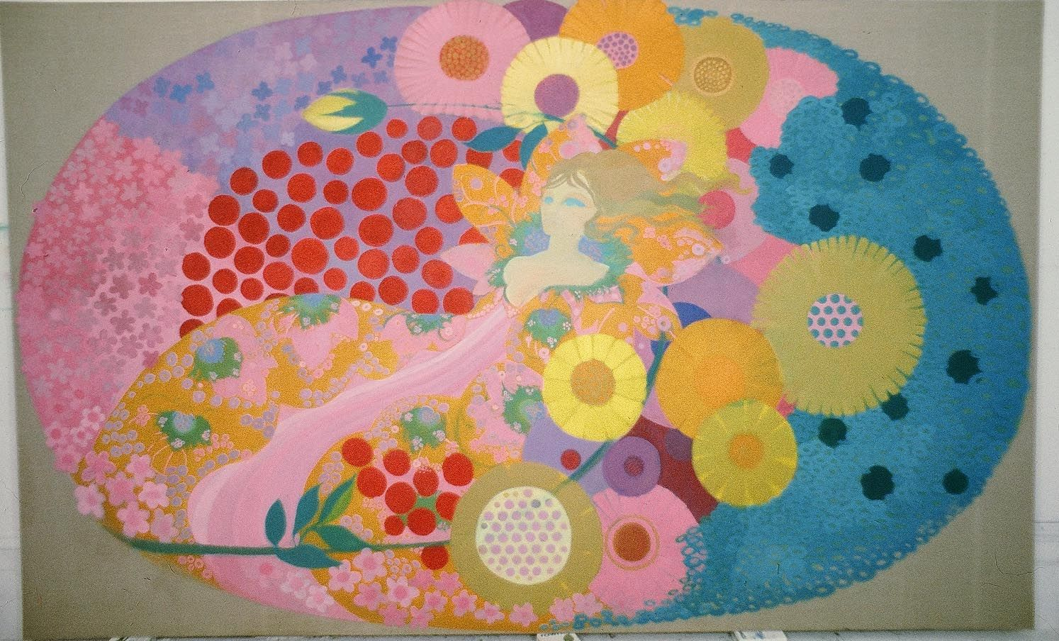 Paintings By Sally Scott For The 1968 Film The Bliss Of Mrs