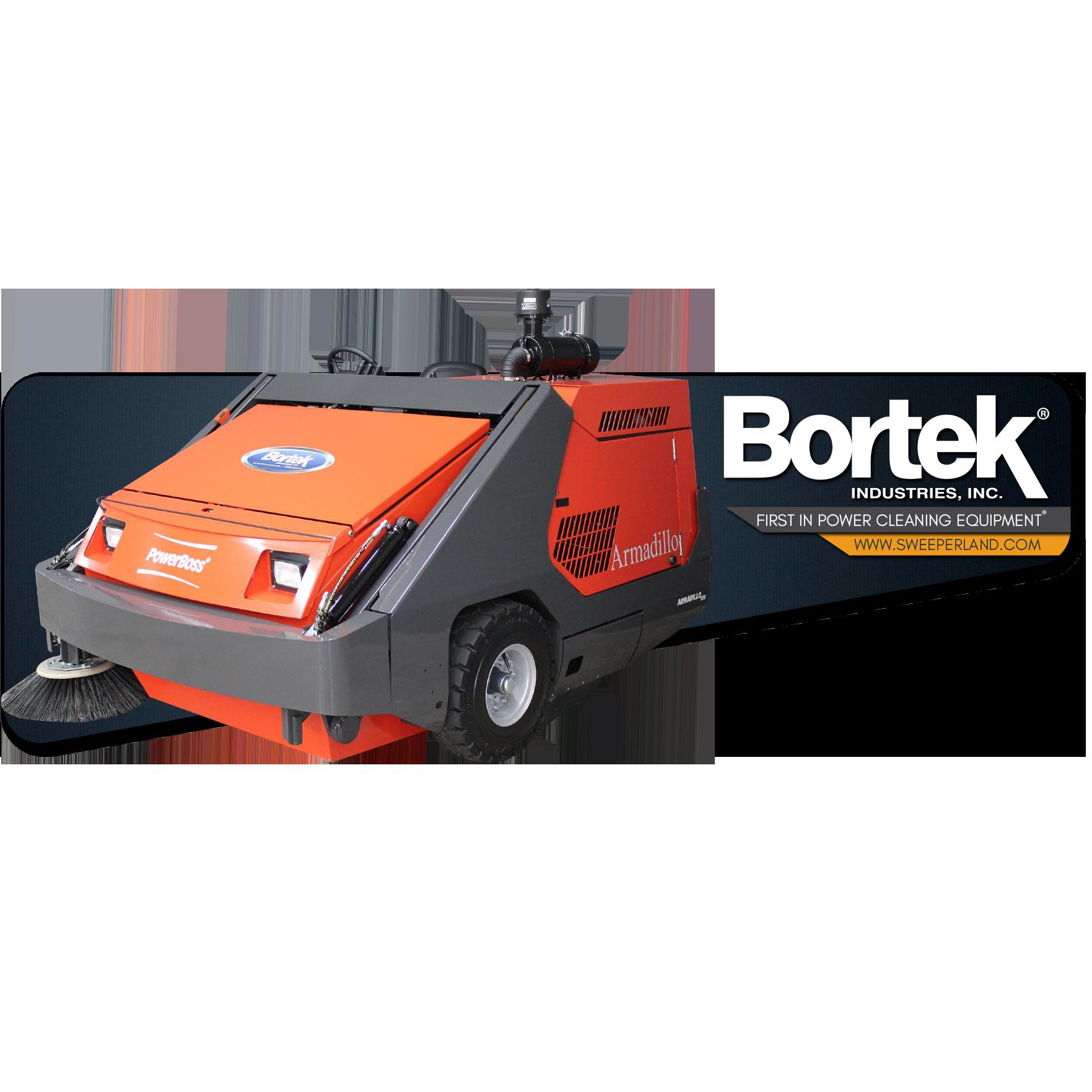Powerboss Armadillo 10x Floor Sweeper Bortek Industries Inc Floor Sweepers Port Authority Flooring