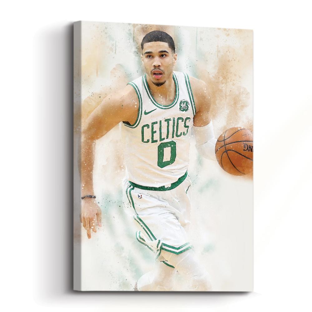 Jayson Tatum Of The Boston Celtics Poses For A Portrait During Nba Jayson Tatum Boston Celtics Boston Celtics Basketball