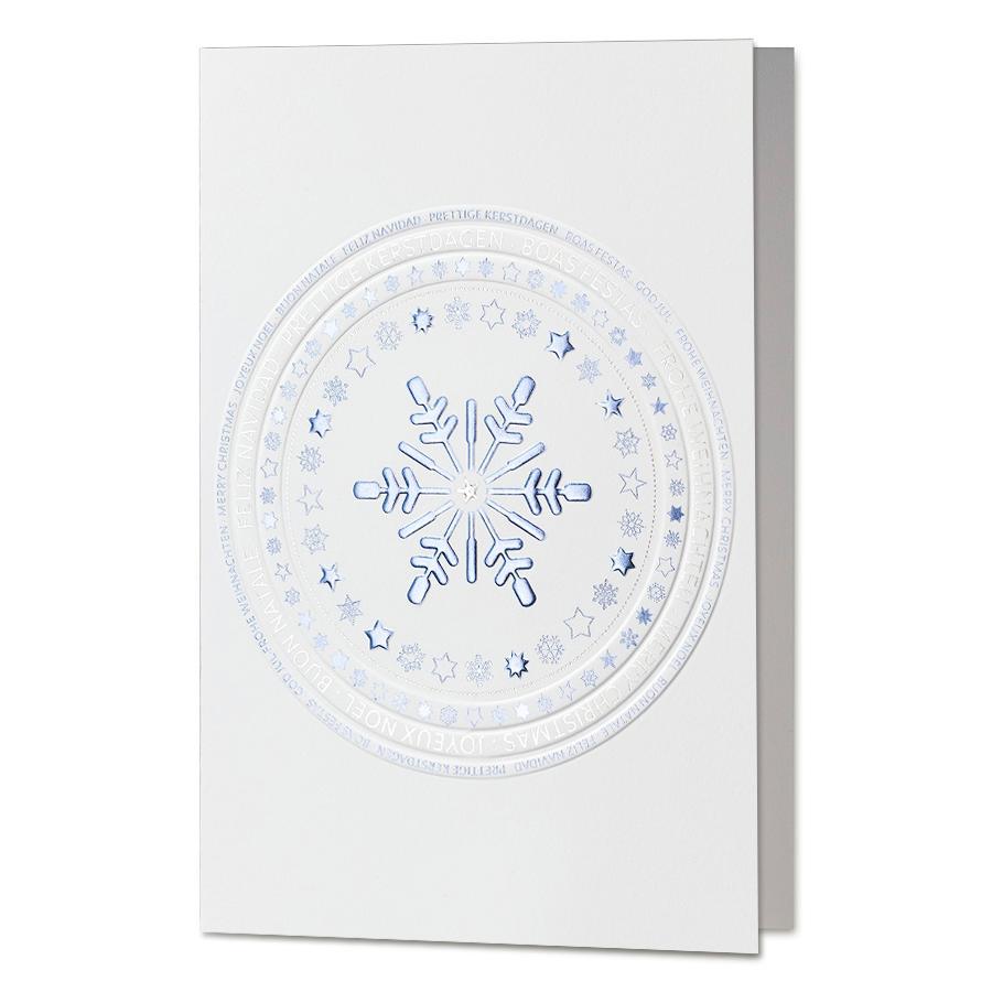 """Internationale Weihnachtskarten """"Sterne"""" online bestellen"""