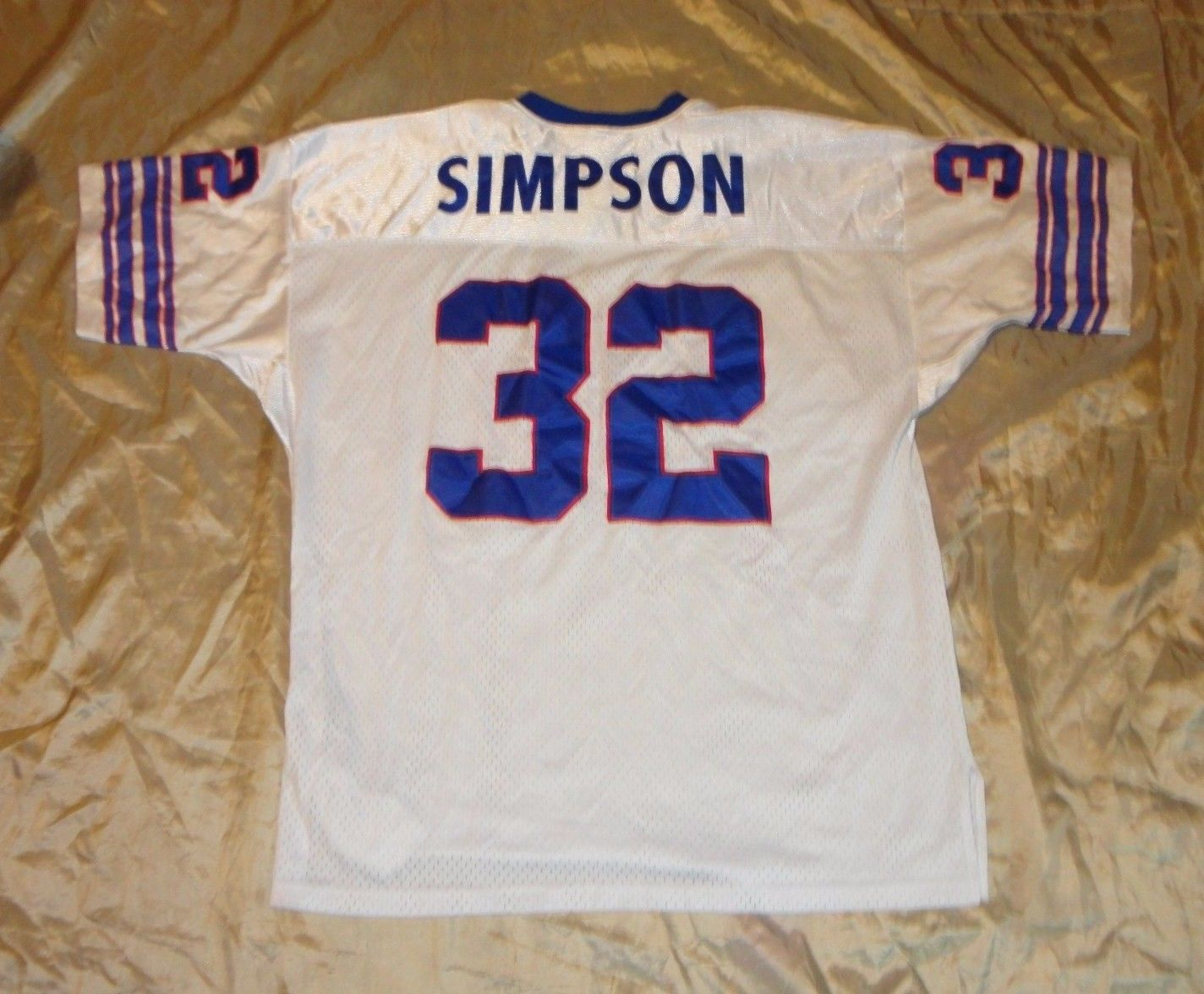 on sale 2ba91 872d9 BUFFALO BILLS O.J. SIMPSON #32 PRESTIGE TEAMS BY WILSON AWAY ...