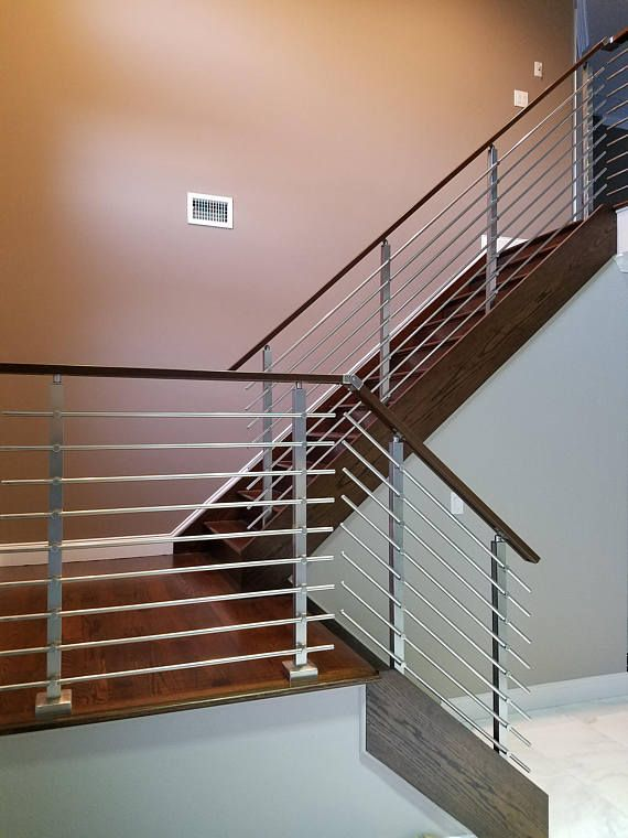 Best Modern Square Stairs Balcony Hand Rail Staircase Railing 400 x 300