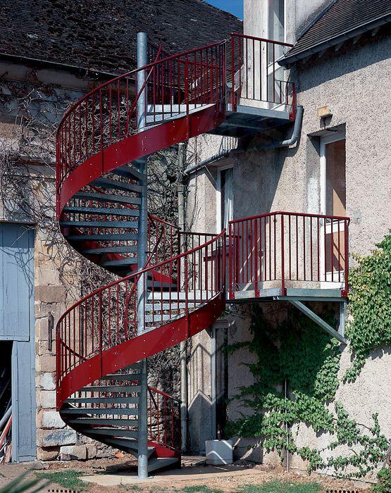 photo ih16 spir 39 d co larm escalier h lico dal d. Black Bedroom Furniture Sets. Home Design Ideas