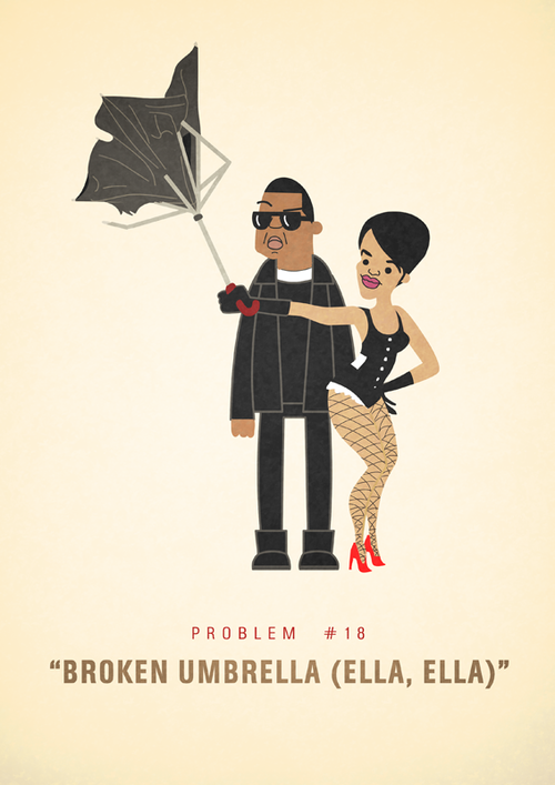 Jay-Z's 99 Problems Series by Ali Graham