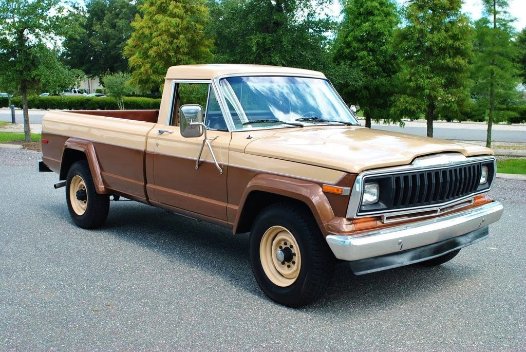 1981 Jeep J20 4x4 Pickup Truck With Only 27 000 Original Miles