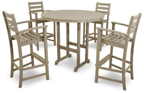 Trex Outdoor Furniture Monterey Bay Gray Plastic Frame Patio Dining Set At Lowe S Watch How Quickly Hy Hour Turns Into An Entire Evening Of Fun When You