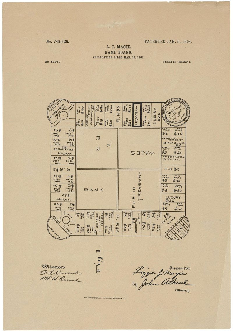 Patented january 5 1904 this is the printed patent drawing for a monopoly malvernweather Image collections
