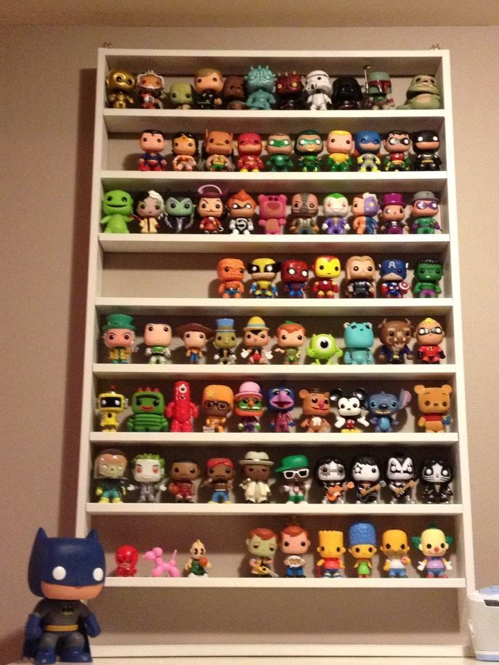 Toy Collection Display Funko Pop Display Displaying Collections Toy Collection Display