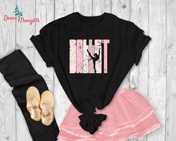 4b7df37b9 Girls Dance Shirt - Dance recital Gift - Ballet Shirt for Kids ...