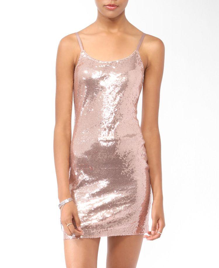 Spaghetti Strap Sequin Dress Forever21 2005756451 Fashion Formal Dresses Sequin Dress