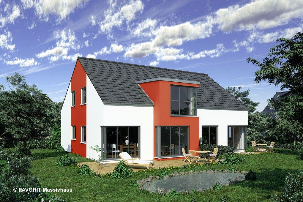 Favorit Haus favorit massivhaus grundriss einliegerwohnung bungalow