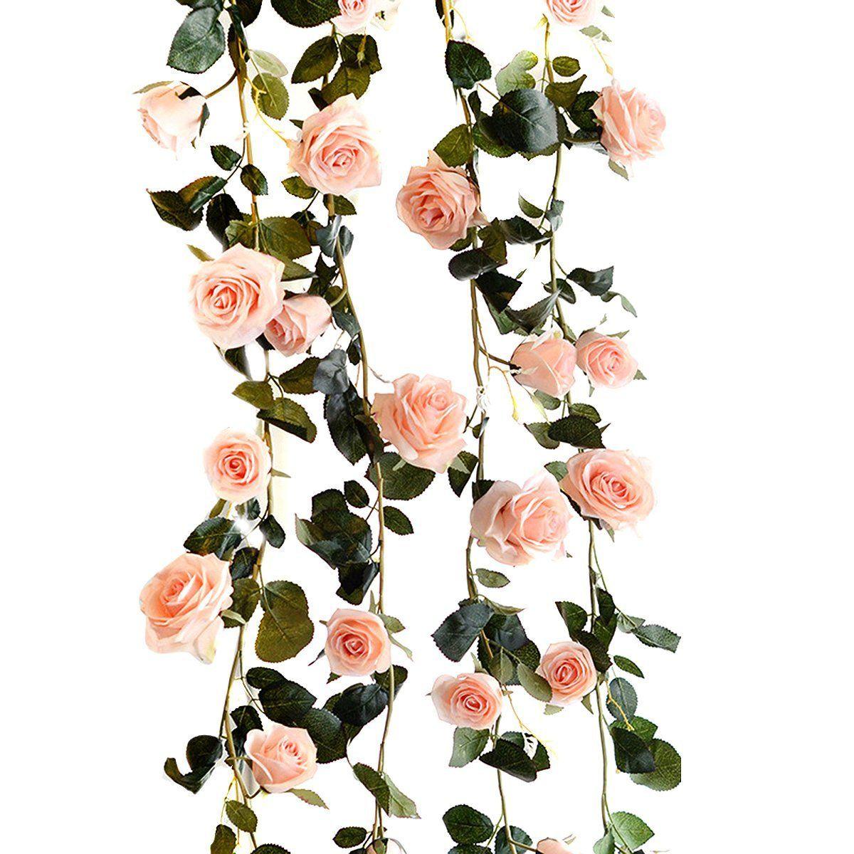 Rose Fake Leaf Home Silk Flowers Christmas Decoration Garden Party Wedding