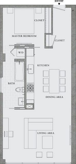 One room apartment layout ideas 37 images