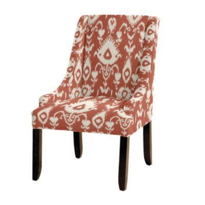 Gramercy Upholstered Chair In Malabar Coral