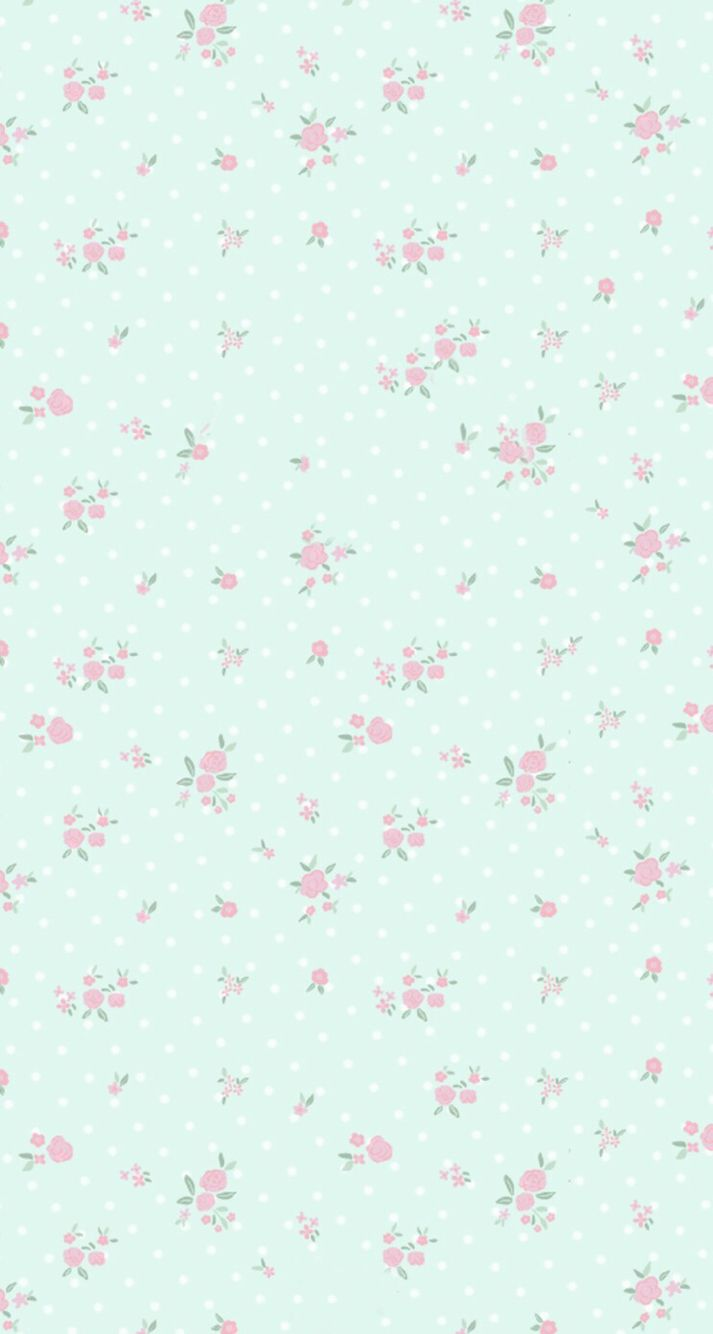 Flower Wallpaper Backgrounds Iphone Wallpapers Vintage Floral Cellphone Papo Decoupage Background