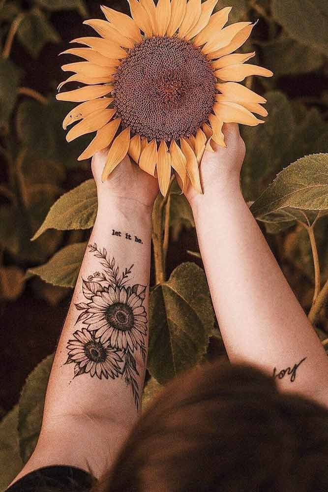 Photo of Get inspired by our Sunflower tattoo ideas #tattoo