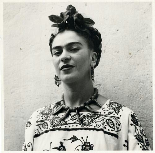 Frida Kahlo tattoo for me.